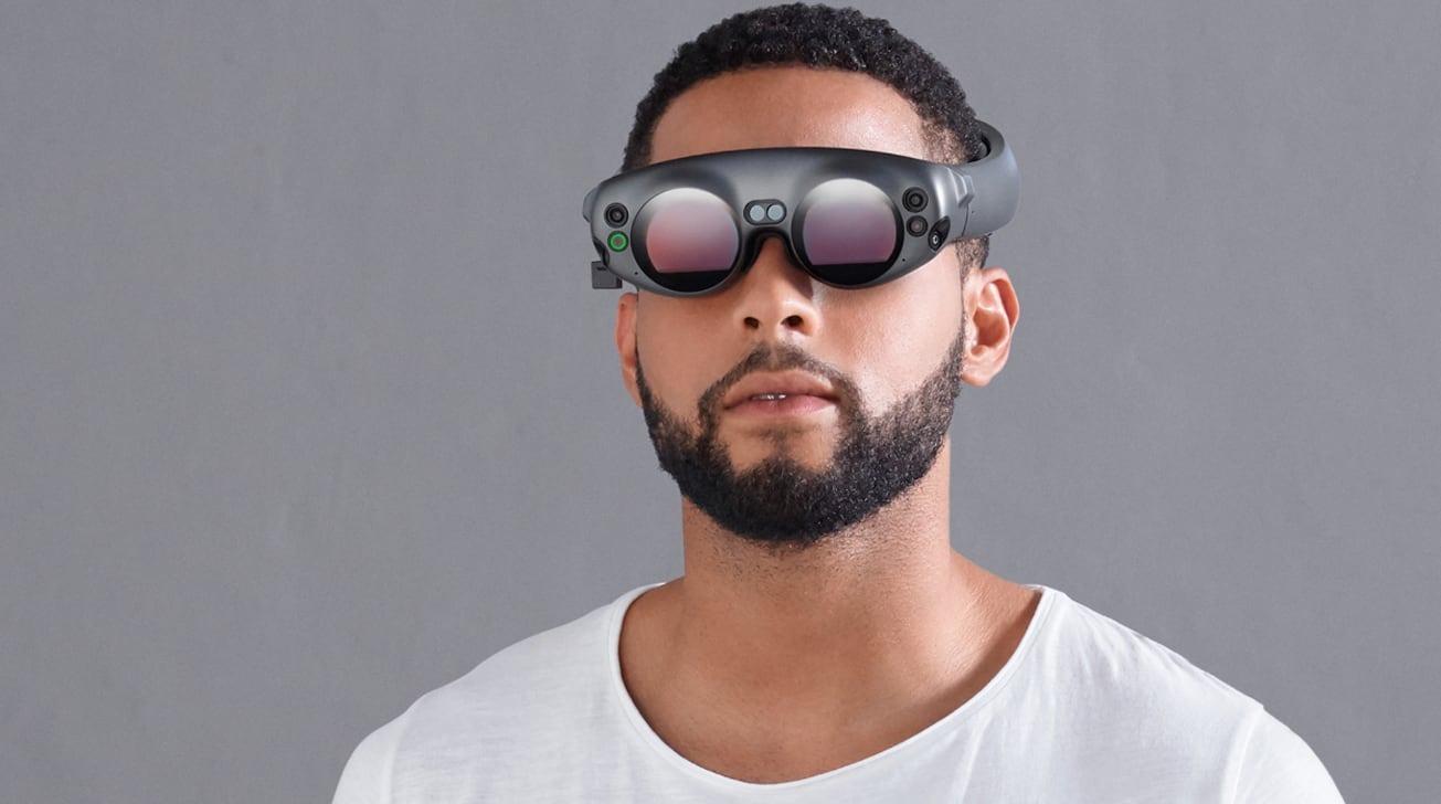 Гарнитура Apple VR за 1000 долларов появится в 2022 году (34693 62831 magic leap one head)