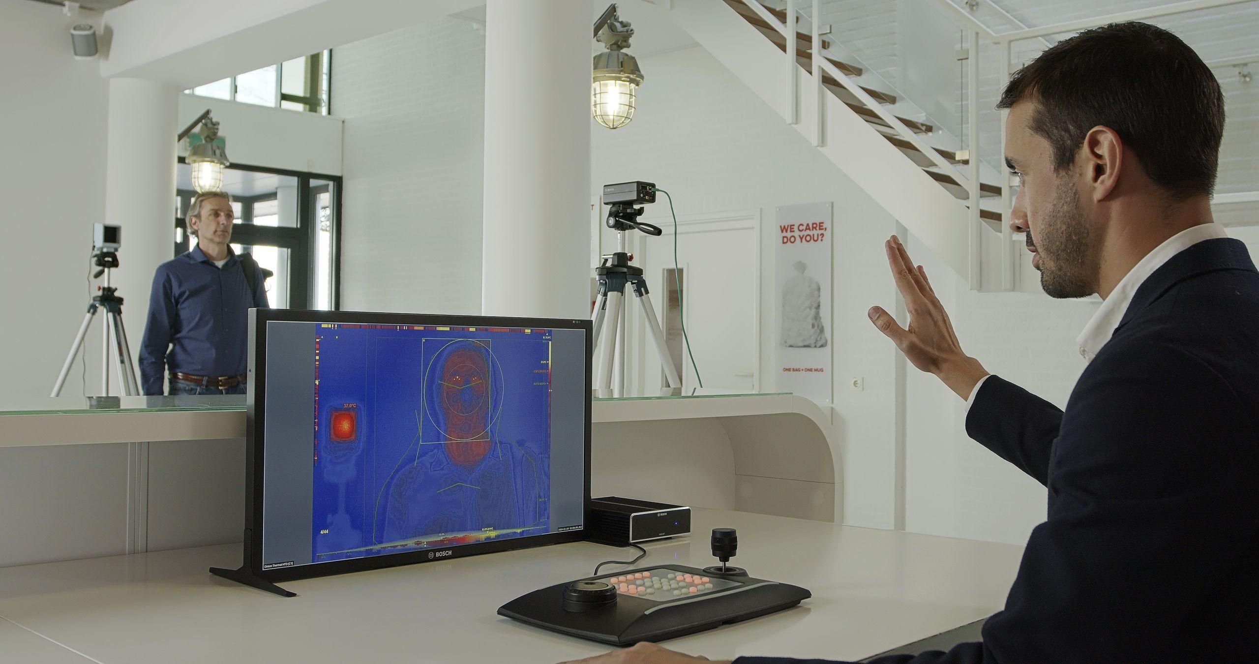 CES 2021: Bosch представила продукты для здоровья, жизни и мобильности (7dd7b2bb human skin temperature detection scaled)