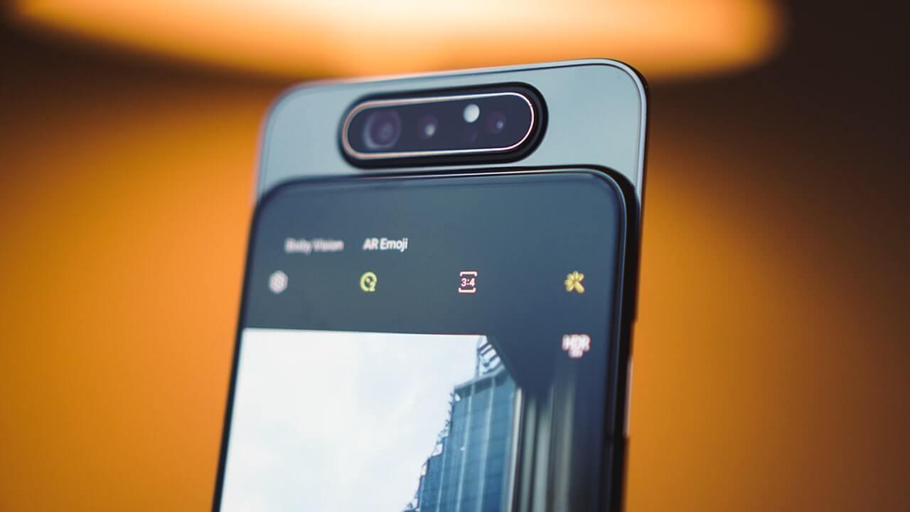 Samsung выпустит смартфоны с рекордными камерами на 200-МП (Galaxy A80 1)