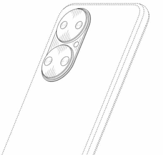 Huawei придумала новый дизайн камеры для своих смартфонов (Huawei patent 2)