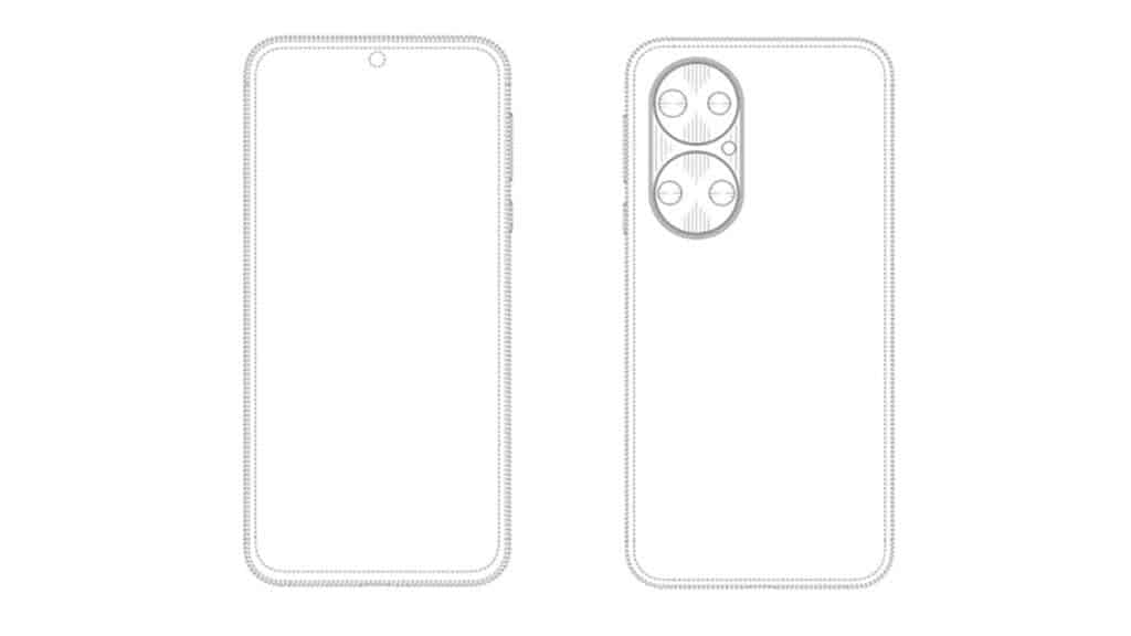 Huawei придумала новый дизайн камеры для своих смартфонов (Huawei patent 3)