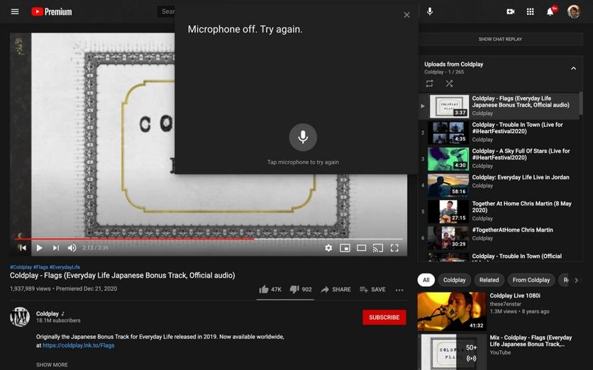В веб-версии YouTube появилась поддержка голосовых команд (Lj65CeHalz1KDMz1qz0kwkEoSA25bZa)