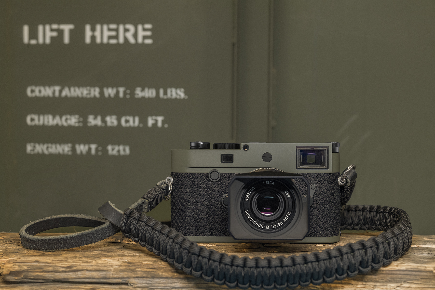 Leica выпустила камеру M10-P Reporter лимитированной серии (M10 P Reporter Ambient1 RGB)