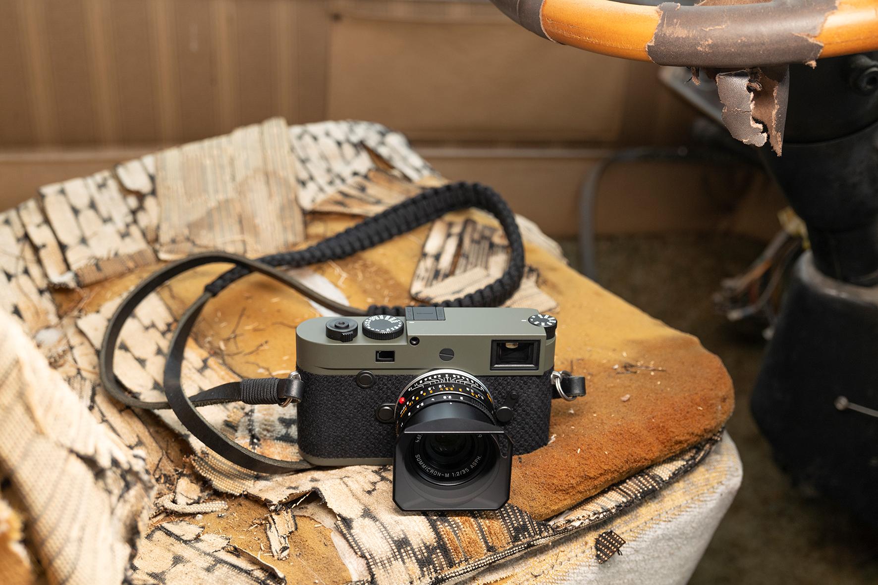 Leica выпустила камеру M10-P Reporter лимитированной серии (M10 P Reporter Ambient4 RGB)