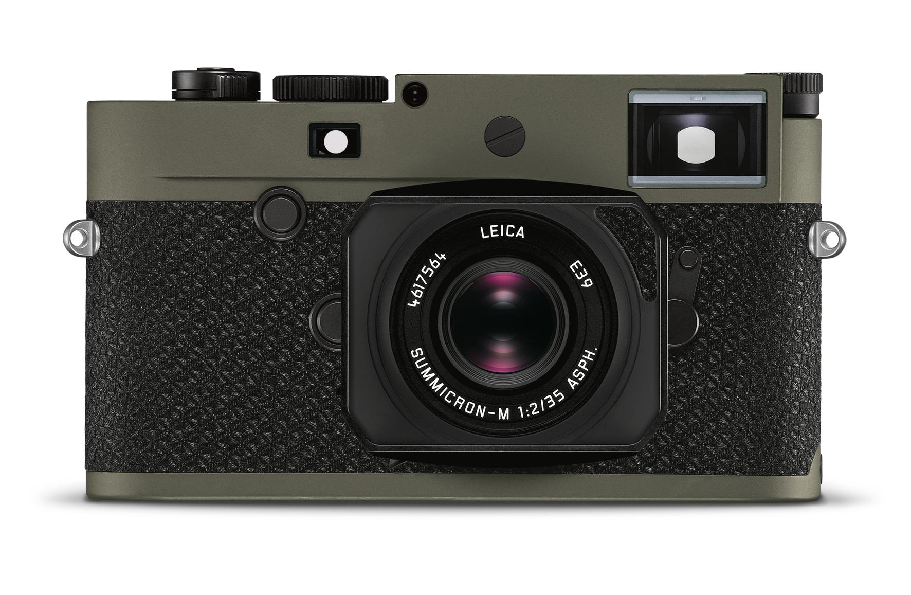 Leica выпустила камеру M10-P Reporter лимитированной серии (M10 P Reporter Body FRONT Summicron RGB)
