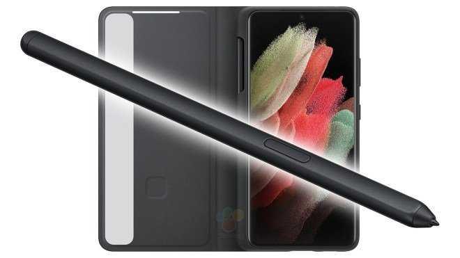 Стилус для Galaxy S21 Ultra нужно будет покупать отдельно (за 40 евро) (Samsung Galaxy S21 Ultra S Pen Cover 1609725998 0 12)