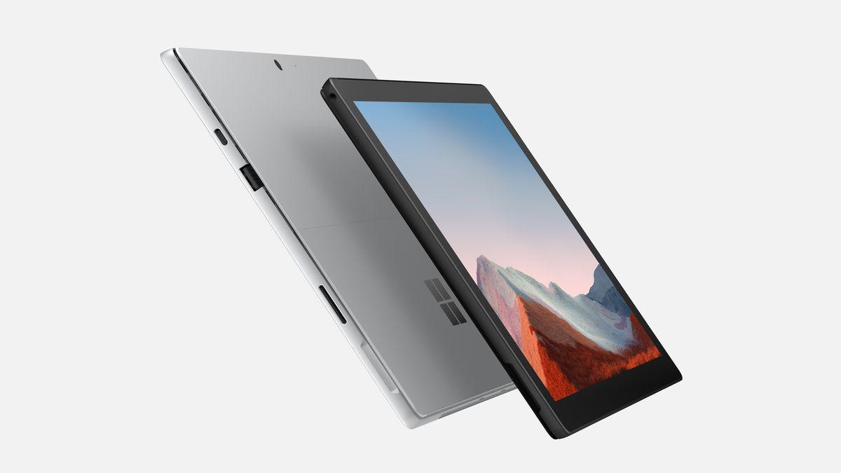 Microsoft обновила ноутбук Surface Pro 7 Plus (Surface Pro 7 Image 3)