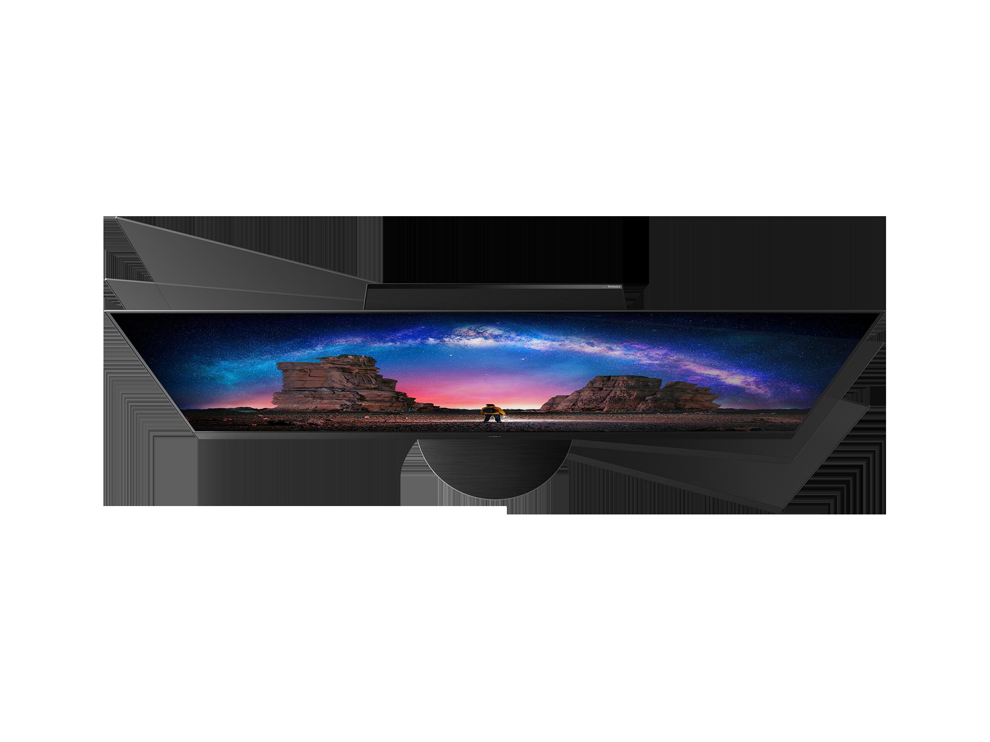 CES 2021: Panasonic представил флагманские OLED-телевизоры 2021 года (TX 65JZ2000E 2000B W2004 C2004 swivel KV)