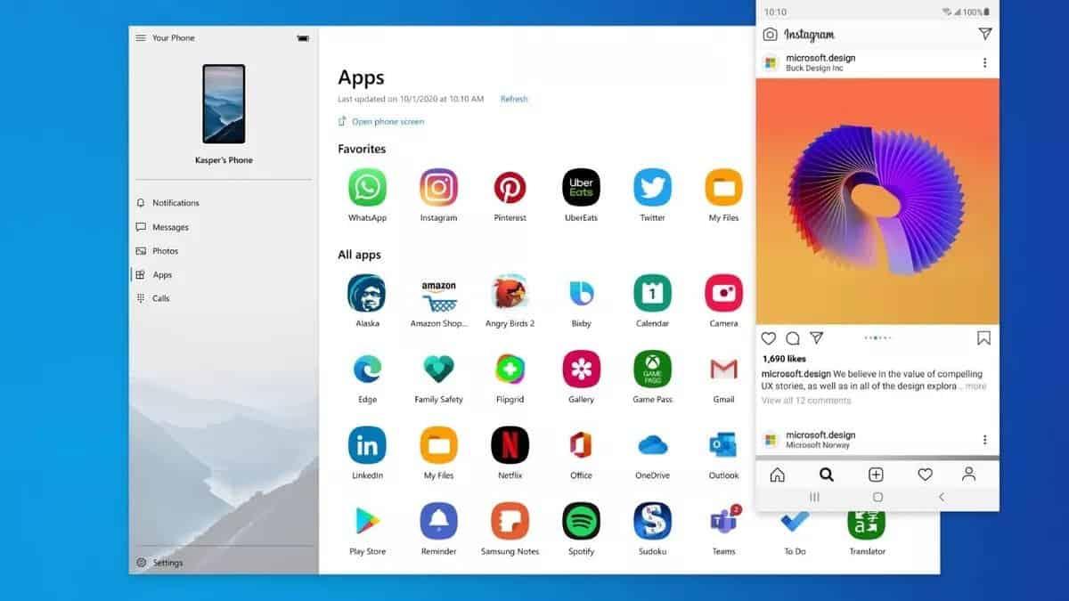 Windows 10 теперь может транслировать несколько Android-приложений одновременно (android apps on windows)