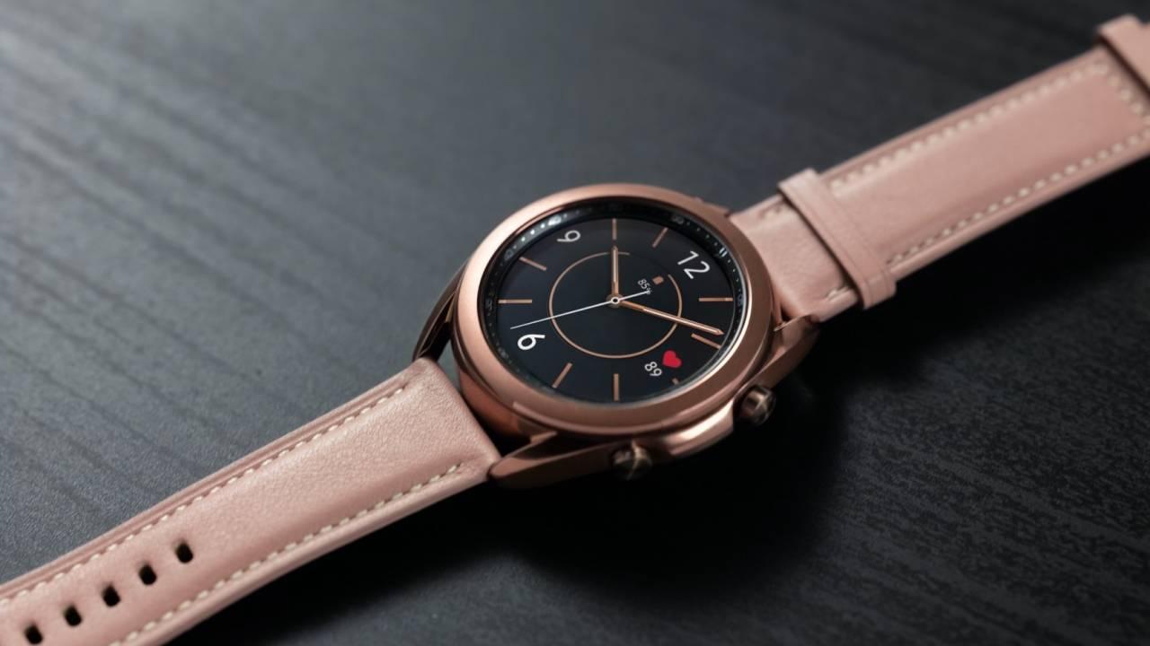 Galaxy Watch 3 и Apple Watch 7 могут получить функцию измерения сахара в крови (galaxy watch3 mystic bronze close up lifestyle 1280x720 1)