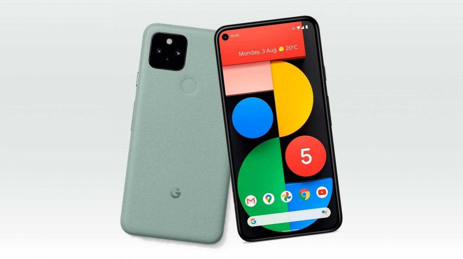 Смартфоны Google Pixel получили важные обновления, исправляющие множество ошибок (google pixel 5 mint green 1536x859 1)