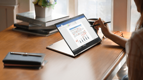 CES 2021: Lenovo ThinkPad X1 Titanium Yoga — самый тонкий ноутбук (image003)