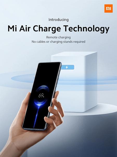 Xiaomi показала инновационную технологию беспроводной зарядки по воздуху (mi air charge technology large)