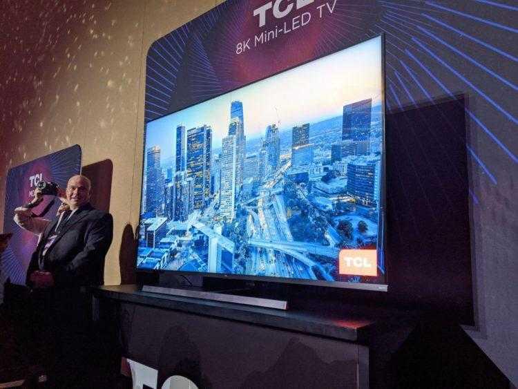 TCL представит на CES 2021 новое поколение Mini LED-телевизоров