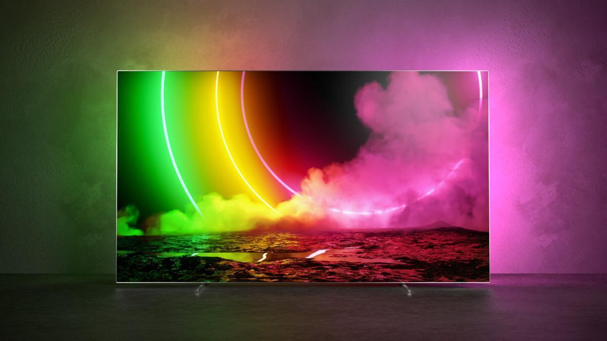 Представлен умный телевизор Philips OLED 806 (oled806 eu 360 rgb)