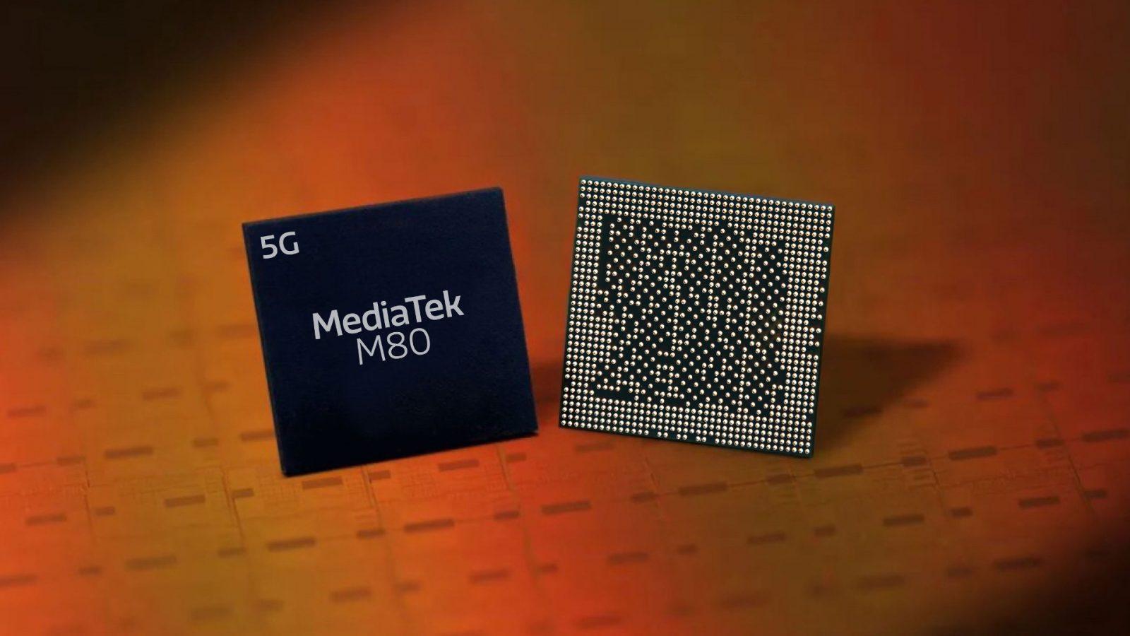 MediaTek представила процессор Helio M80