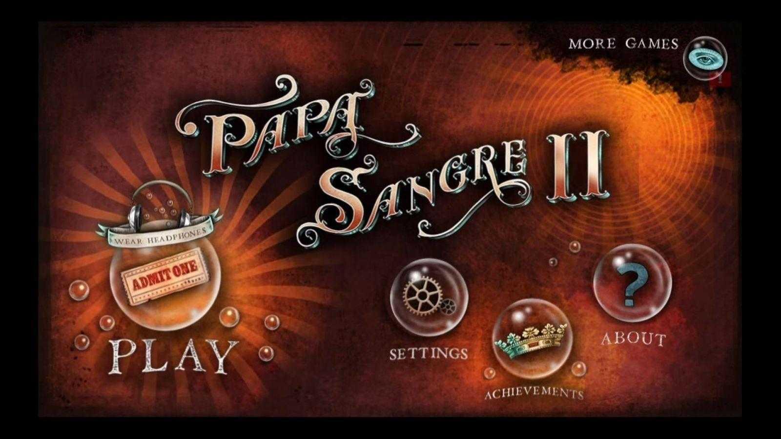 Обзор Papa Sangre 2 (ps23)