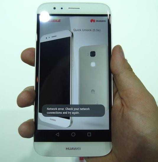 12 - IFA 2015. Huawei представила смартфон Huawei G8