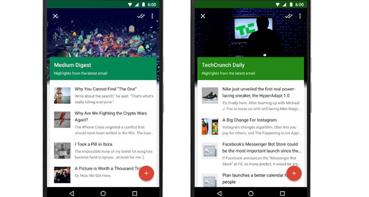 Google Inbox теперь отслеживает события, рассылки и сохранённые ссылки (2)
