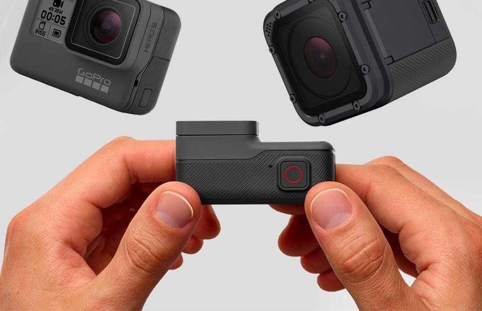 754743798645451 - GoPro представила две новые камеры Hero5 Black и Session