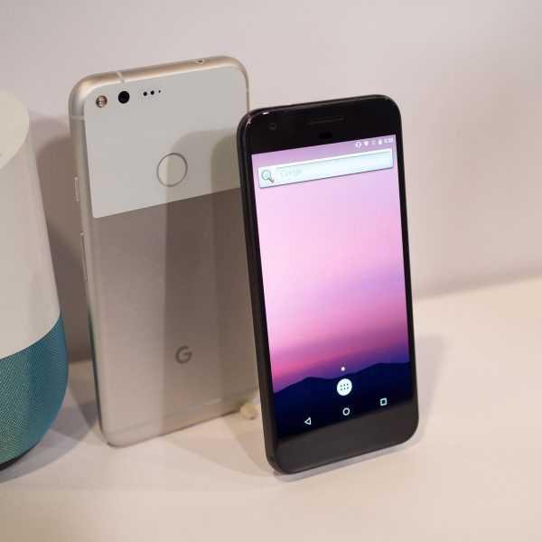 Google Pixel и Pixel XL защищены от пыли и воды (google pixel hardware 16)