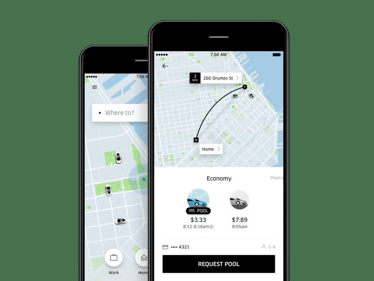 Bez zagolovka - Uber полностью переделал своё приложение