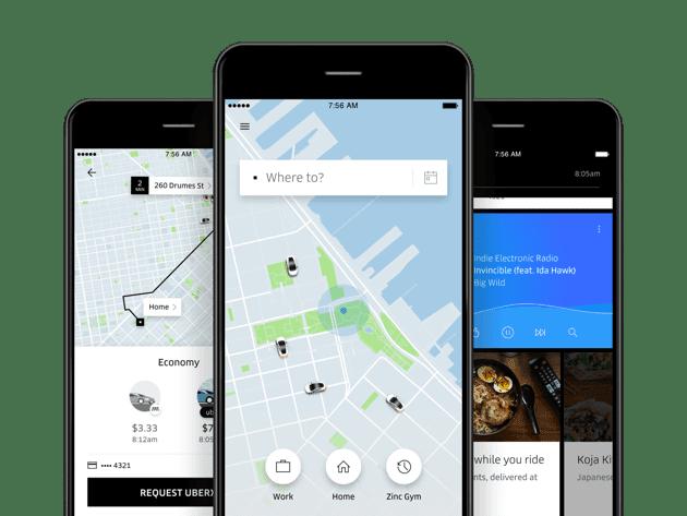 Bez zagolovka2 - Uber полностью переделал своё приложение