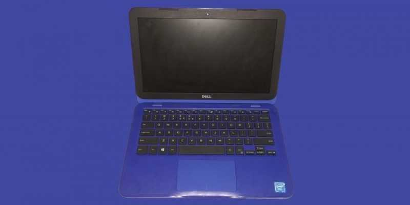 Обзор бюджетного ноутбука Dell Inspiron 3162 (dell logo)