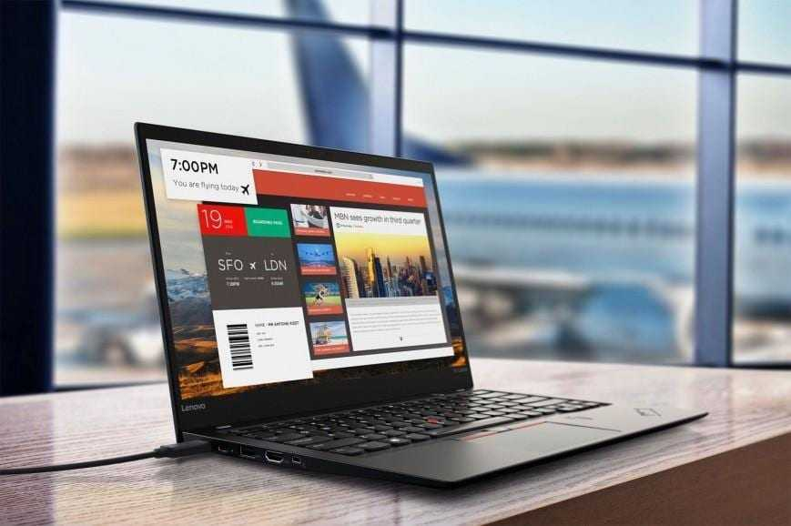 493293 - CES 2017. Lenovo представила новые ThinkPad X1 и планшет Miix 720