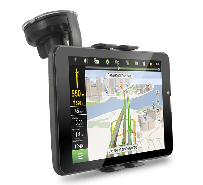 A737 holder - Навигационный планшет NAVITEL A737 доступен для предзаказа