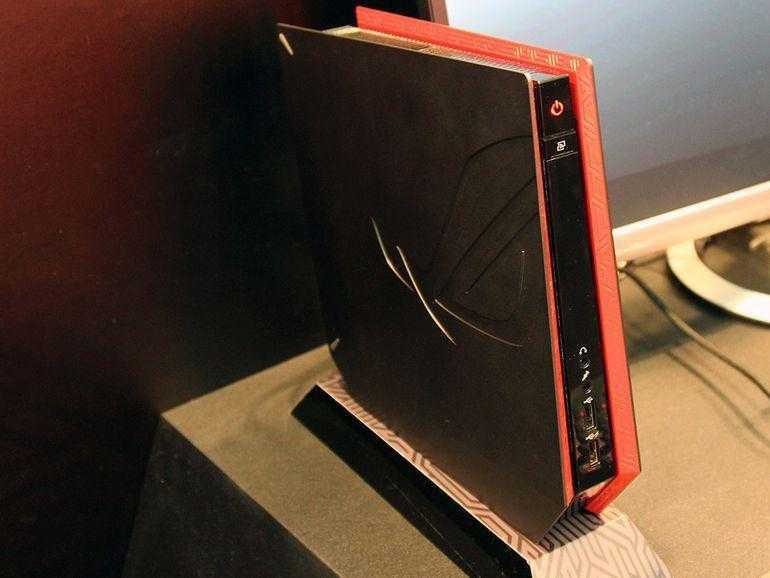 Компания ASUS представила новый ультракомпактный игровой компьютер ROG GR8 II (asusroggr83)
