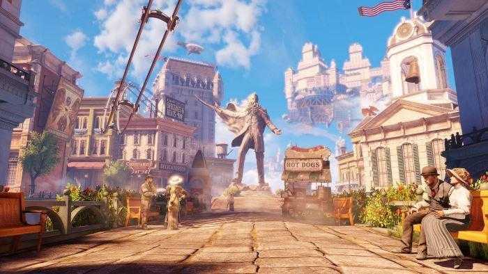 bioshock infinite1 - Автор BioShock и System Shock, Кен Левайн, работает над игрой Ghost Story
