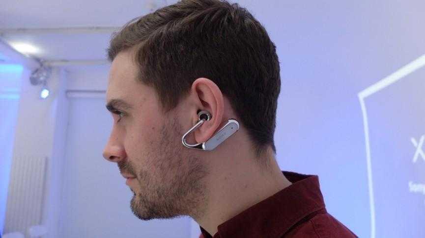 """ear open 1 1488181264 dQjU column width inline - MWC 2017. Sony анонсировала несколько новых """"умных"""" устройств"""