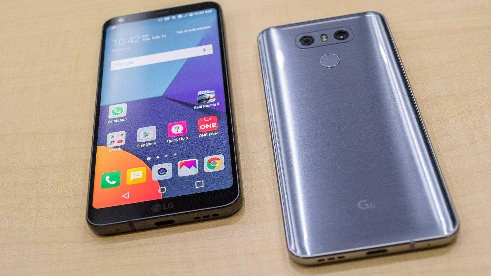 lg g604 - MWC 2017. LG показала новый смартфон G6
