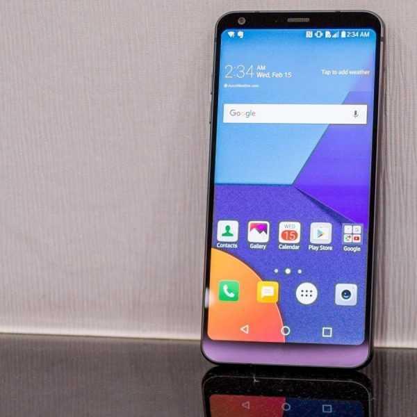 MWC 2017. LG показала новый смартфон G6 (lg g618)