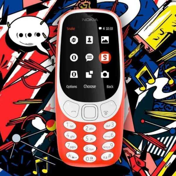 MWC 2017. Nokia 3310 возвращается в новом облике (nokia 3310)