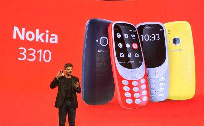 nokia 3310 mwc 2017 - MWC 2017. Nokia 3310 возвращается в новом облике