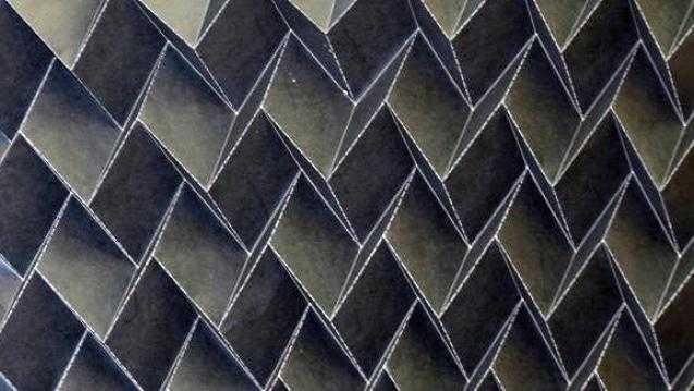 origami radiator nasa - Новый оригами-радиатор защитит спутники от перепада температур