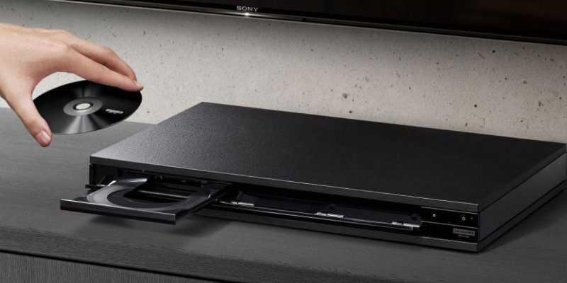Первый 4K Blu-ray плеер Sony скоро поступает в продажу (sony ubp x800 01)