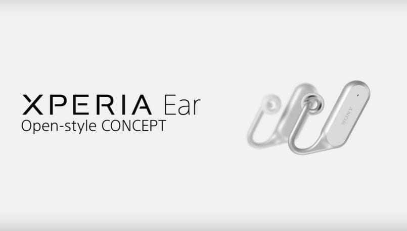 """sony xperia ear concept - MWC 2017. Sony анонсировала несколько новых """"умных"""" устройств"""
