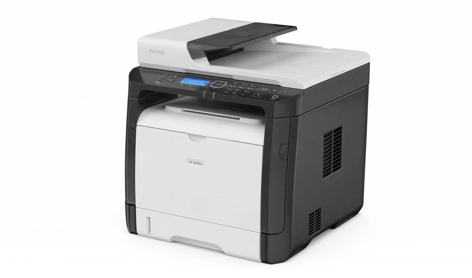 Ricoh представляет на российском рынке новые экономичные принтеры и МФУ (Ricoh sp325SNw)