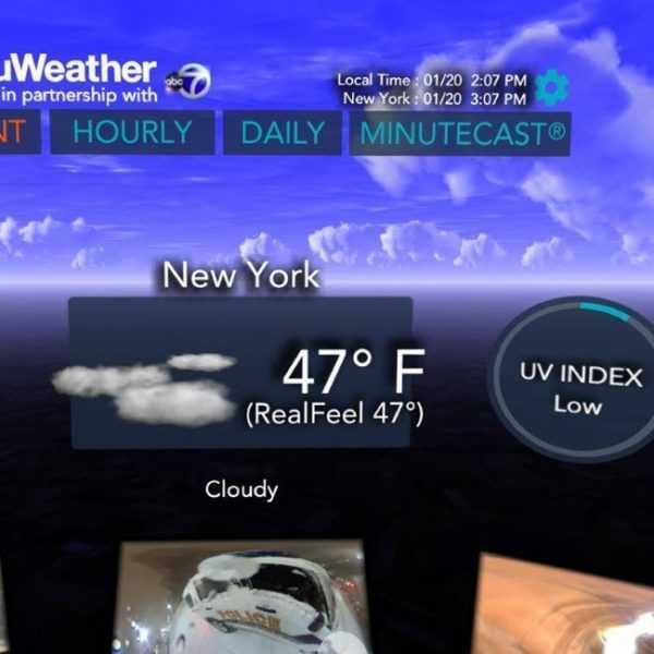AccuWeather выпустила программу для VR - Weather for Life (accuweather vr 2)