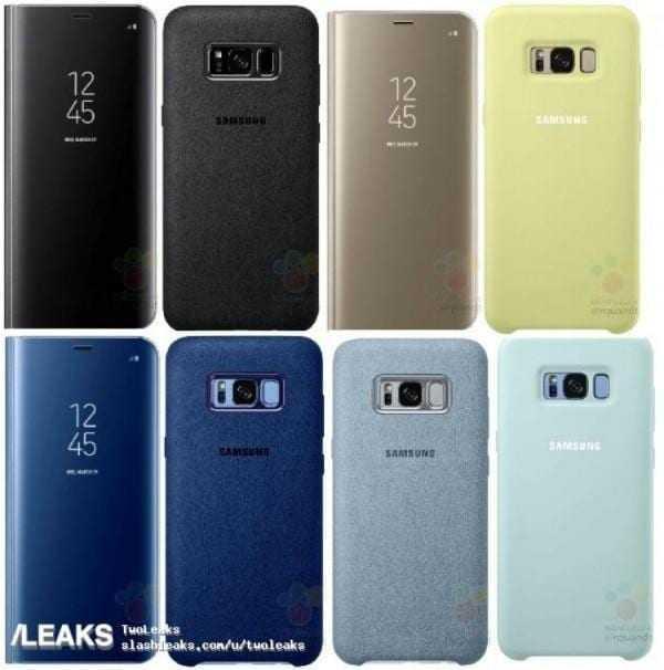 В сеть утекли фотографии аксессуаров к Samsung Galaxy S8 (gsmarena 007)