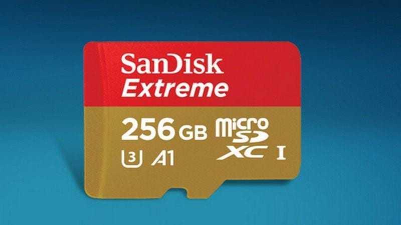 MWC 2017. SanDisk показали microSD-карту ёмкостью 256 Гбайт (sandisk sdcard story 1488266349658)