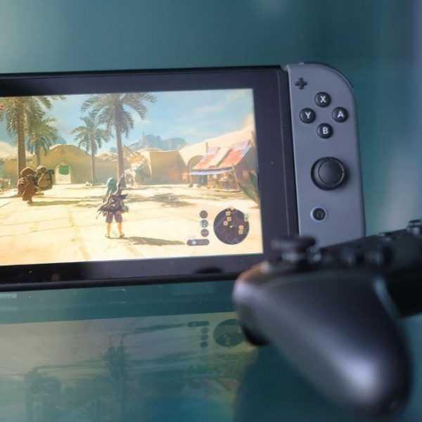 Продажи Nintendo Switch оказались намного выше любых прогнозов (switch best seller title)