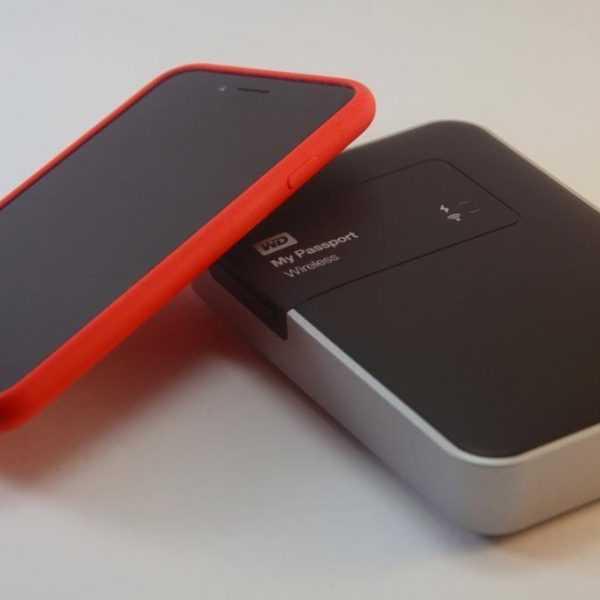 Незаменимый хранитель. Обзор WD My Passport Wireless (03 DSC 6403)
