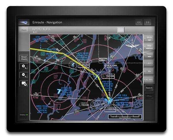 UTair внедрила новое технологическое решение на планшеты экипажей (1 2 jfk from portland enroute night)