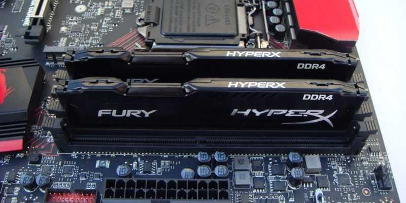 HyperX обновила линейку модулей ОЗУ FURY DDR4 с автоматическим разгоном (15)