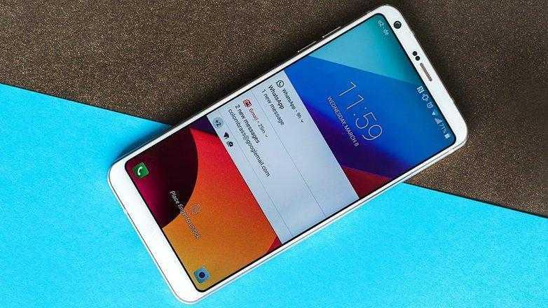 AndroidPIT LG G6 9299 w782 - LG G6 поступает в продажу в России