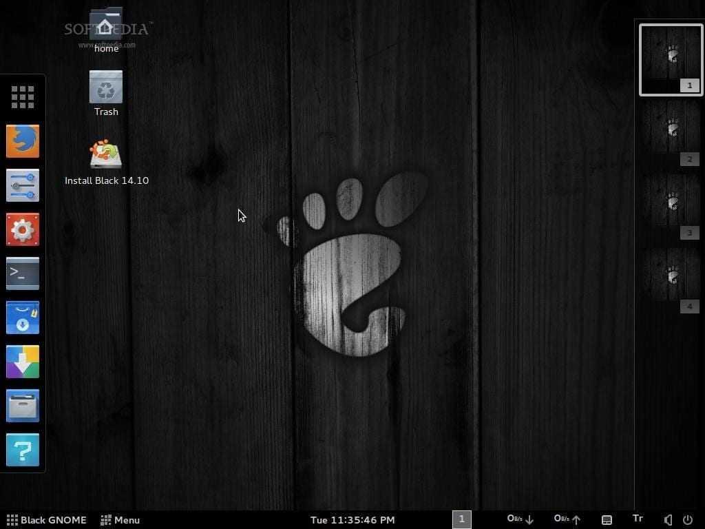 Black GNOME Linux 1 - Мобильной Ubuntu больше не будет. Canonical возвращает GNOME